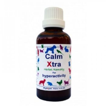 Calm Xtra,herbal Remedy to Calm an Anxious or Hyper Dog